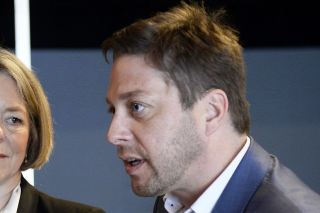 Le député péquiste Martin Ouellet... (Photo Jeannot Lévesque, Le Quotidien)