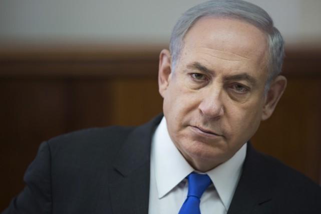 Le premier ministre israélien Benyamin Nétanyahou... (PHOTO ARCHIVES AP)