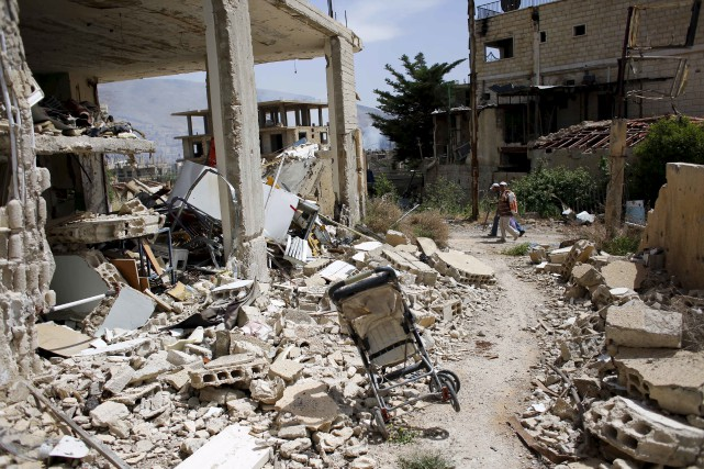 En six ans, la guerre a causé la... (AP, Hassan Ammar)