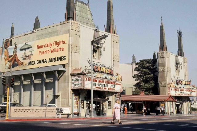 Le Chinese Theater en 1965... (Archives AP, Harold Filan)