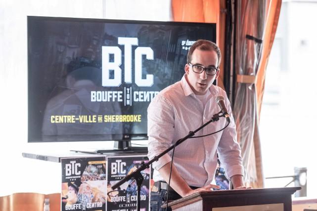 Alexandre Hurtubise, président du comité des gens d'affaires... (Spectre média, Jessica Garneau)