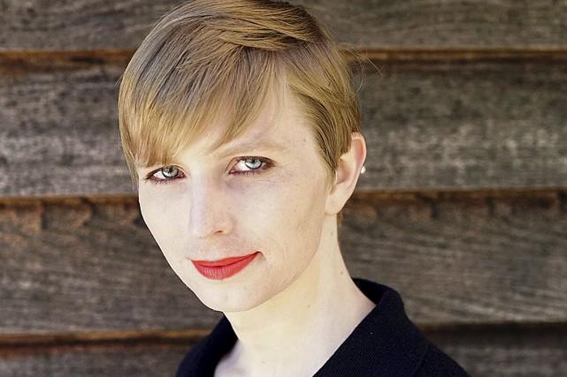La militaire transgenre, autrefois connue comme Bradley Manning,... (AP, Tim Travers Hawkins/courtoisie de Chelsea Manning)
