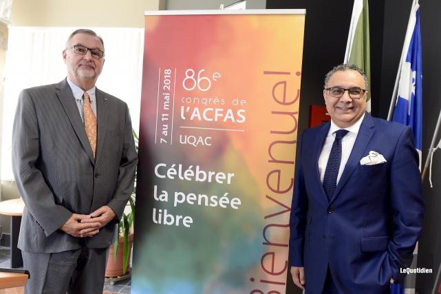 Le recteur par intérim de l'UQAC, Martin Côté,... (Le Quotidien, Jeannot Lévesque)