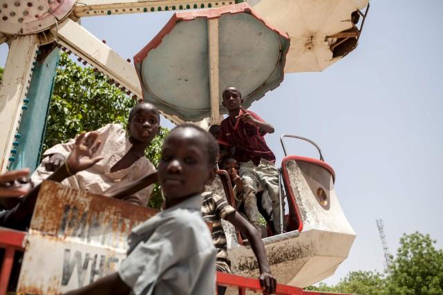 Des milliers d'enfants devenus orphelins avec l'insurrection djihadiste... (AFP, Florian Plaucheur)