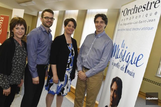 L'Orchestre symphonique du Saguenay-Lac-Saint-Jean a lancé sa programmation... (Le Quotidien, Michel Tremblay)