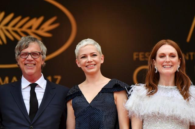 Une partie de l'équipe du film Wonderstruck, soit... (Agence France-Presse, Alberto PIZZOLI)