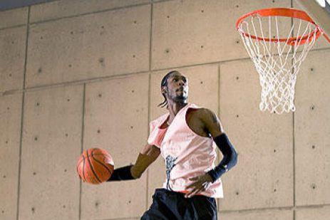 Justin Darlington a gagné le World Basketball Festival... (Michael GreenPhoto)