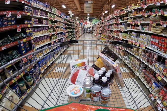 L'indice des prix des aliments a diminué d'une... (Archives, La Voix de l'Est)