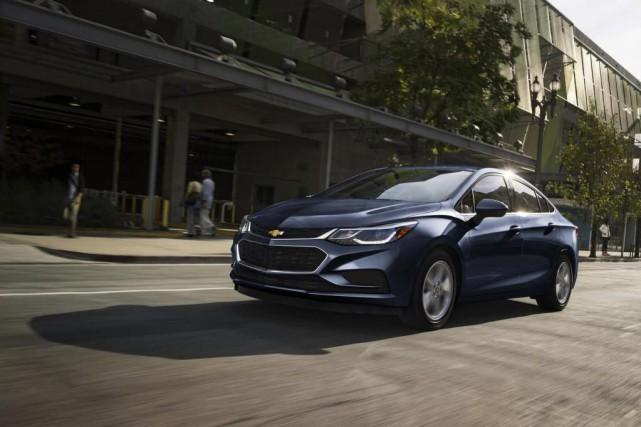 Chevrolet Cruze... (Photo fournie par le fabriquant)