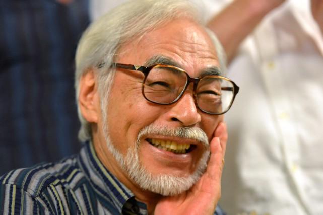 Hayao Miyazakiavait annoncé en septembre 2013 qu'il ne... (PHOTO Yoshikazu TSUNO, Archives AFP)
