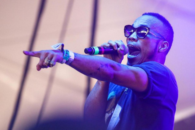 L'artiste californien Anderson.Paak... (Photo Jack Plunkett, Associated Press)