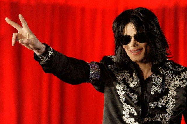 Le chanteur américain Michael Jackson, décédé en 2009 à 50 ans, va faire son... (Photo Joel Ryan, Archives Associated Press)