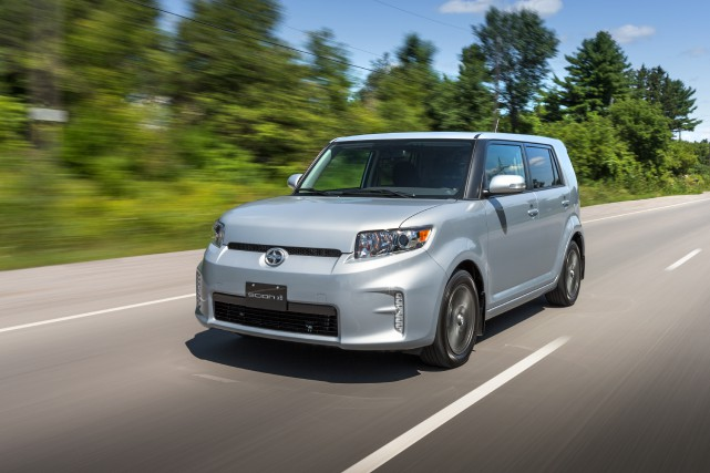 La Scion xB... (Photo fournie par le constructeur)