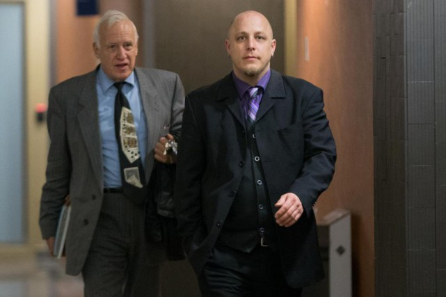 Adrian Stürm (à droite) a été condamné à... (PHOTO OLIVIER JEAN, Archives LA PRESSE)