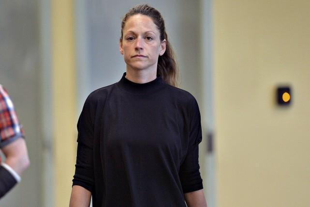 Le juge attribue la présence de l'ex-policière devant... (Le Soleil, Patrice Laroche)