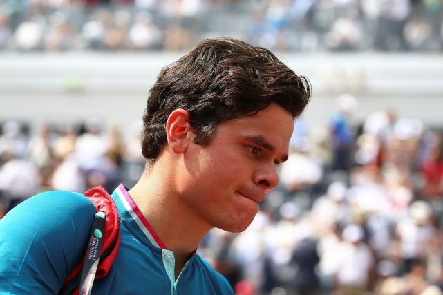 Milos Raonic (photo) s'est incliné 7-6 (4), 6-1... (Photo Alessandro Bianchi, Reuters)