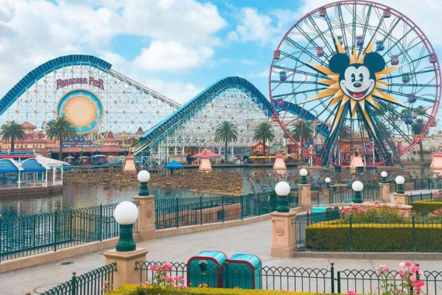 Disneyland, à Anaheim, en Californie: 14 615 952... (Photo tirée d'Instagram)
