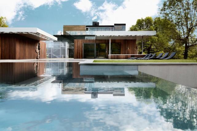 La piscine des Jardins Bota Bota, dans le... (Photo fournie par Bota Bota)