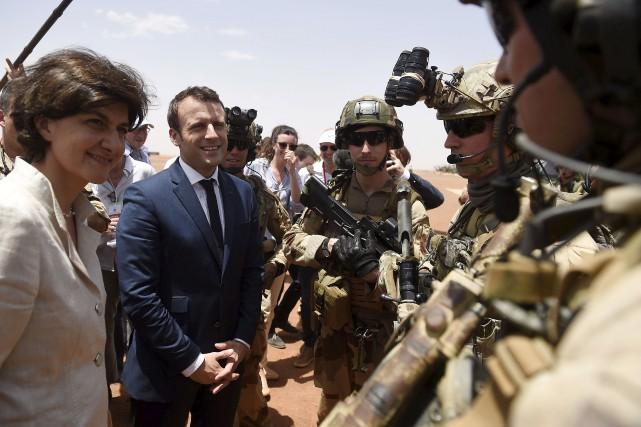 C'est au Mali qu'a eu lieu le premier... (AP, Christophe Petit Tesson)