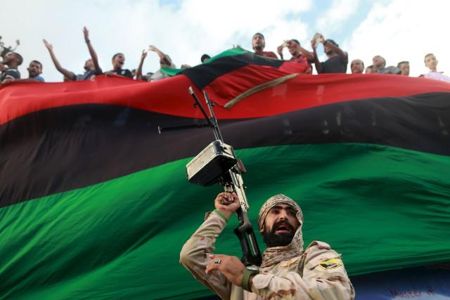 La base de Brak al-Shati est située à... (ARCHIVES REUTERS)