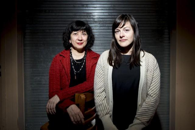 Marie Brassard et Sophie Cadieux... (La Presse)