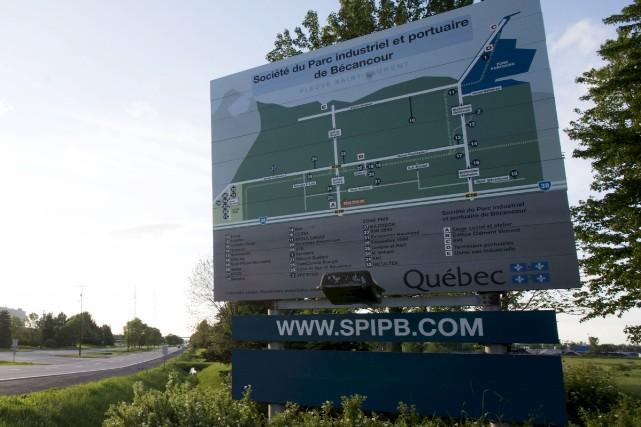 Les activités du parc industriel et portuaire de... (Stéphane Lessard)