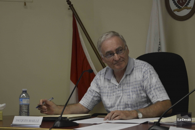 Le maire de Lac-Simon, Jacques Maillé... (Benoit Sabourin, archives Le Droit)