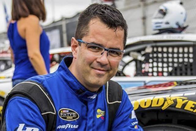 Martin Côté aborde son aventure en NASCAR avec... (fournie par Go-VR Racing)