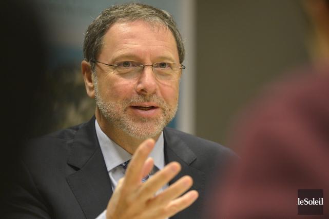 Président-directeur général duConseil du patronat du Québec,Yves-Thomas Dorval... (archives Le Soleil)