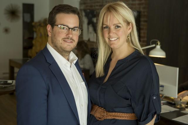 Sophie Villeneuve et Maxime Couture... (Photo courtoisie)