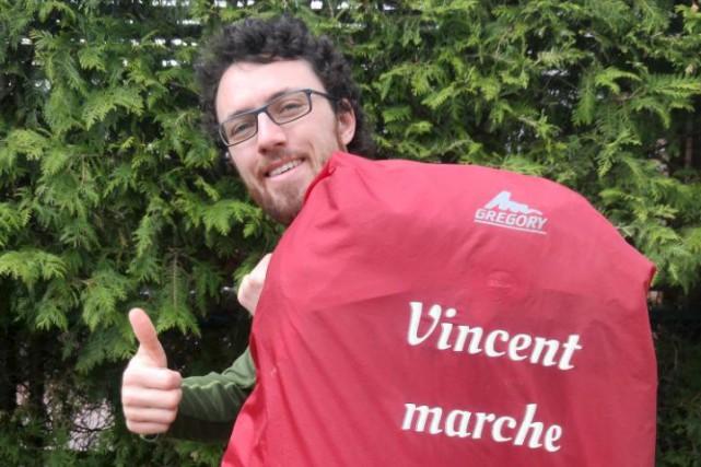 Vincent Bussières parcourra le Québec pendant 21 semaines... (Photo courtoisie)