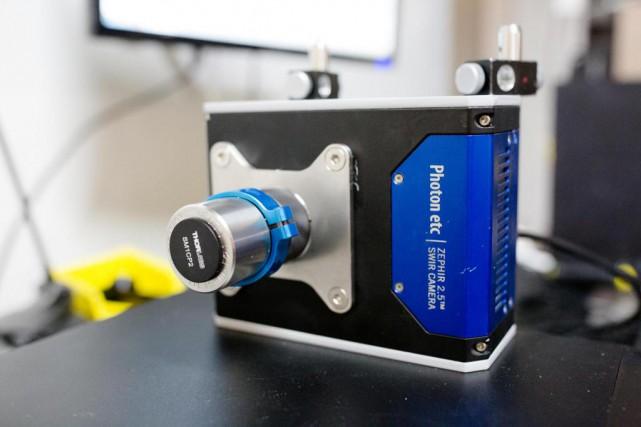 La caméra infrarouge ZephIR offre une meilleure résolution... (Photo Ninon Pednault, La Presse)