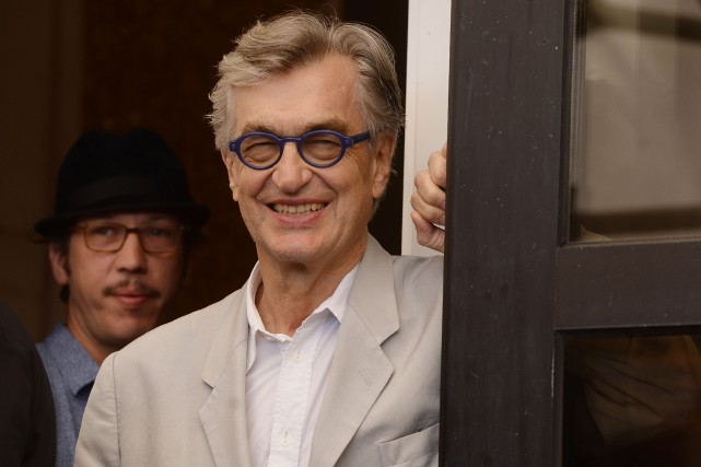 Le cinéaste Wim Wenders, âgé de 71 ans, a... (Photo FILIPPO MONTEFORTE, archives AFP)