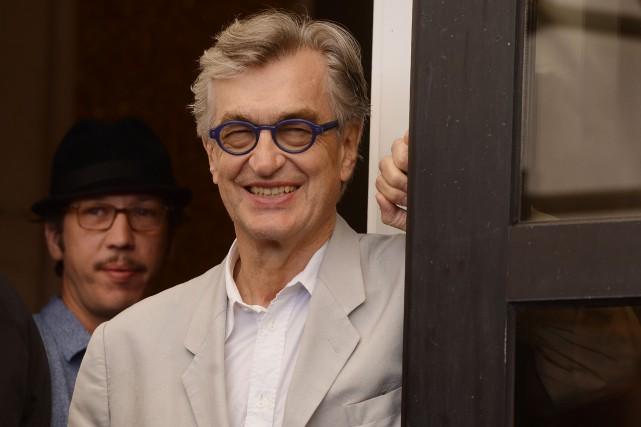 Le cinéasteWim Wenders, âgé de 71 ans, a... (Photo FILIPPO MONTEFORTE, archives AFP)
