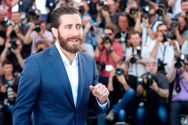 Jake Gyllenhaal... (PHOTO Valery HACHE, AGENCE FRANCE-PRESSE)