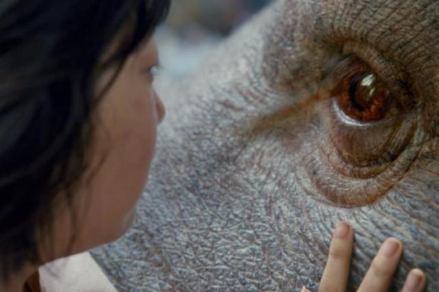 Une scène d'Okja... (Photo fournie par Netflix)
