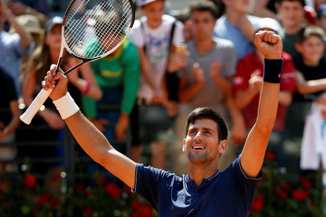 Novak Djokovic... (Photo Stefano Rellandini, REUTERS)