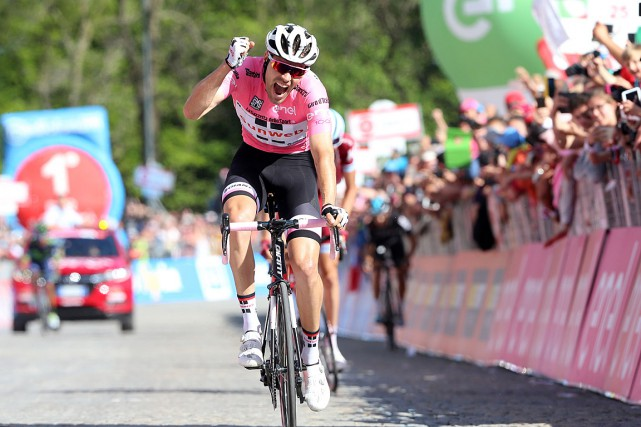 Tom Dumoulin... (PHOTO Luk BENIES, AGENCE FRANCE-PRESSE)