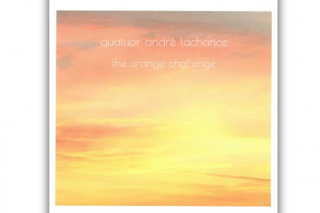 Jazz, The Orange Challenge, de Quatuor André Lachance...