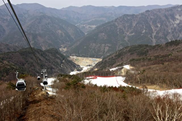 Le secteur du mont Gariwang avait été désigné... (collaboration spéciale, Guillaume Piedboeuf)
