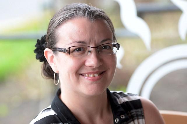 Sophie Vaillancourt est atteinte de la fibrose kystique... (Le Soleil, Érick Labbé)