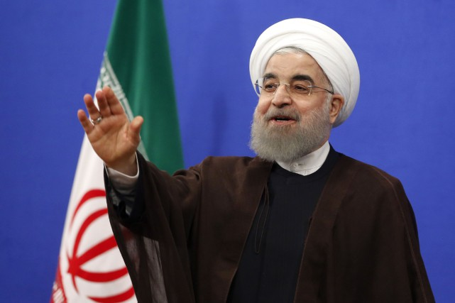 Hassan Rohani... (Photo Atta Kenare, Agence France-Presse)