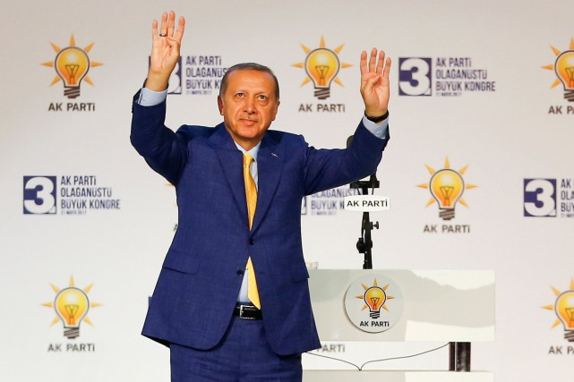 Recep Tayyip Erdogan... (Photo Murad Sezer, REUTERS)