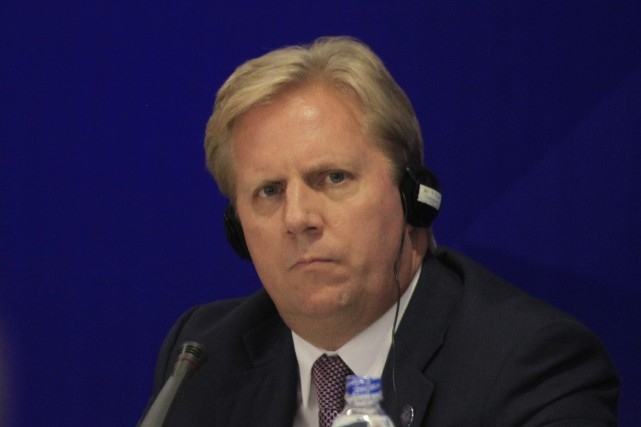Le ministre néo-zélandais du Commerce Todd McClay a... (Photo Hau Dinh, Associated Press)