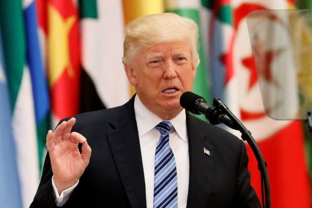 Donald Trump... (Photo Jonathan Ernst, REUTERS)