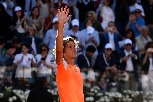 Alexander Zverev... (Photo Alessandro Bianchi, REUTERS)
