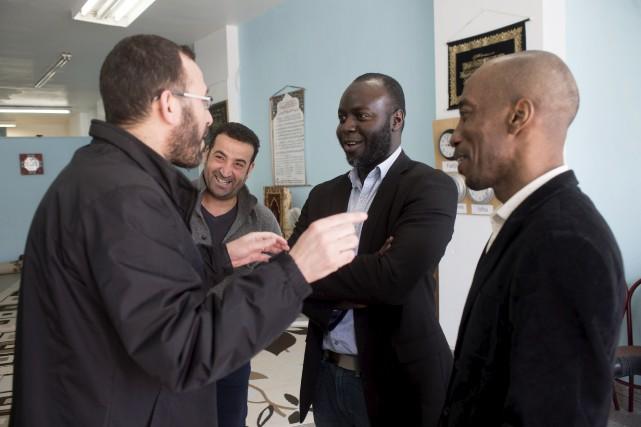 Le président du Centre culturel musulman de Shawinigan,... (Stéphane Lessard)
