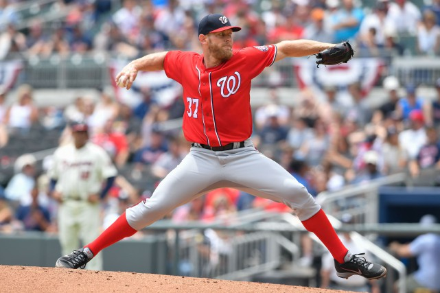 Stephen Strasburg... (Photo Dale Zanine, USA TODAY Sports)