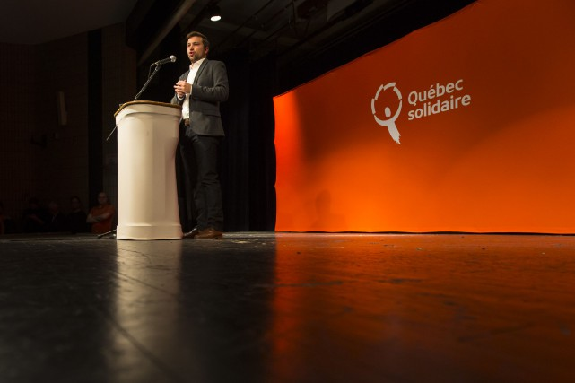 Gabriel Nadeau-Dubois est l'un des porte-paroles élus de... (PHOTO OLIVIER JEAN, archives LA PRESSE)