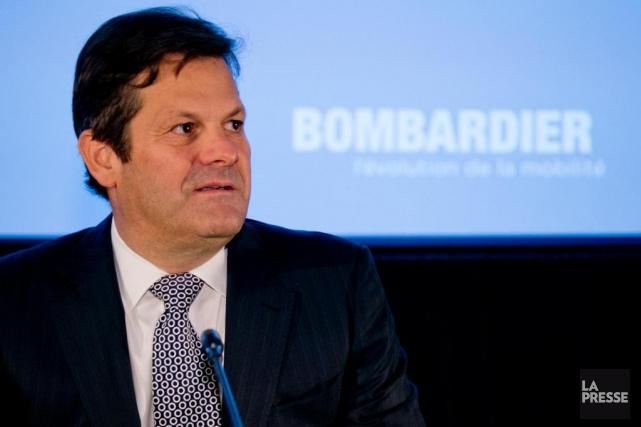 Le président de BombardierPierre Beaudoin croit que le... (PHOTO DAVID BOILY, LA PRESSE)